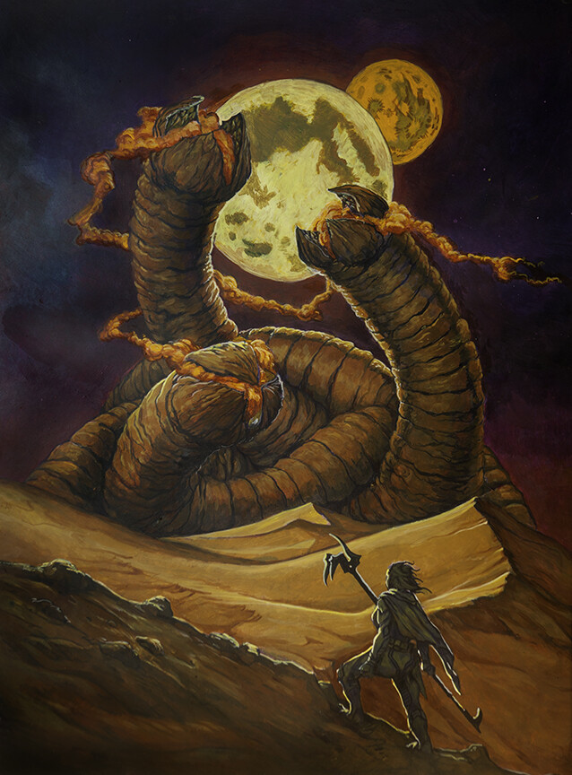 Dune Artwork by Mike Wonnacott